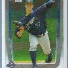 2011 Bowman Draft Picks & Prospects Chrome Jed Bradley (Brewers) #BDPP16