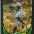 2011 Bowman Draft Picks & Prospects Chrome Refractor Rookie Juan Nicasio (Rockies) #66