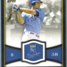 2012 Topps Baseball Gold Futures Mike Moustakas (Royals) #GF-20