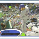2012 Topps Baseball Jemile Weeks (Athletics) #640