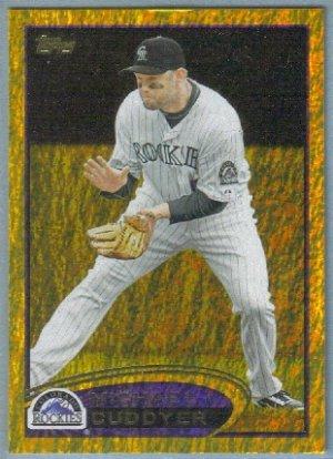 2012 Topps Baseball Gold Sparkle Michael Cuddyer (Rockies) #454