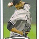 2012 Topps Update & Highlights Baseball Francisco Liriano (White Sox) #US1