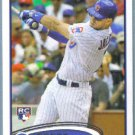2012 Topps Update & Highlights Baseball Rookie Brett Jackson (Cubs) #US69