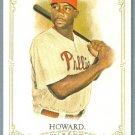 2012 Topps Allen & Ginter Baseball Short Print SP Hi # Ryan Howard (Phillies) #306