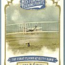 2012 Topps Allen & Ginter Historical Turning Points The First Flight at Kitty Hawk #HTP15