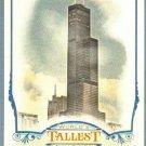 2012 Topps Allen & Ginter World's Tallest Buildings Willis Tower #WTB4