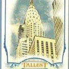 2012 Topps Allen & Ginter World's Tallest Buildings Chrysler Building #WTB7