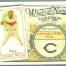 2012 Topps Allen & Ginter What's In A Name Tony Perez (Reds) #WIN33