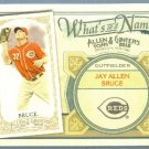 2012 Topps Allen & Ginter What's In A Name Jay Bruce (Reds) #WIN60