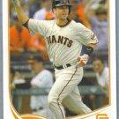 2013 Topps Baseball Travis Ishikawa (Brewers) #45