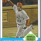 2012 Topps Heritage Baseball David Freese Makes Texas Toast (Cardinals) #147