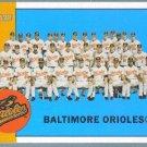 2012 Topps Heritage Baseball Baltimore Orioles Team Photo (Orioles) #377