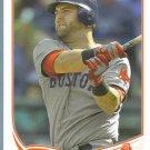 2013 Topps Baseball Jose Molina (Rays) #492