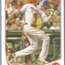 2013 Topps Baseball B.J. Upton (Braves) #614