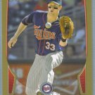 2013 Bowman Baseball GOLD Justin Morneau (Twins) #23