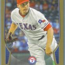 2013 Bowman Baseball GOLD Derek Holland (Rangers) #74