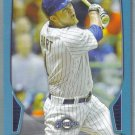 2013 Bowman Baseball Blue Border Corey Hart (Brewers) #115 #'d 481/500