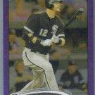 2012 Topps Chrome Baseball Purple Refractor A.J. Pierzynski (White Sox) #204