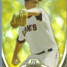 2013 Bowman Platinum Gold Matt Cain (Giants) #27