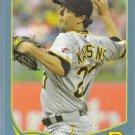 2013 Topps Baseball Blue Border Jeff Karstens (Pirates) #293