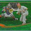 2013 Topps Baseball Green Emerald Border Erick Aybar (Angels) #489