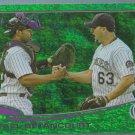 2013 Topps Baseball Green Emerald Border Rafael Betancourt (Rockies) #604