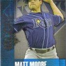 2013 Topps Baseball Chasing The Dream Matt Moore (Rays) #CD-5