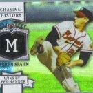 2013 Topps Baseball Chasing History GLOSSY Warren Spahn (Braves) #CH-31