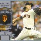 2013 Topps Baseball Chasing History Tim Lincecum (Giants) #CH-85
