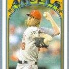 2013 Topps Baseball Mini Retro 1972 Jered Weaver (Angels) #TM-3