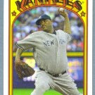 2013 Topps Baseball Mini Retro 1972 C.C. Sabathia (Yankees) #TM-29