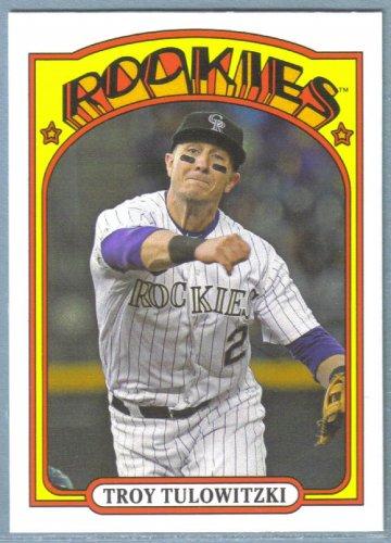 2013 Topps Baseball Mini Retro 1972 Troy Tulowitzki (Rockies) #TM-66