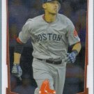2012 Bowman Chrome Baseball Rookie Will Middlebrooks (Red Sox) #189