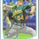 2013 Topps Update & Highlights Baseball Rookie Luke Putkonen (Tigers) #US43