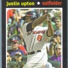 2013 Topps Update & Highlights Mini 1971 Retro Justin Upton (Braves) #TM-11