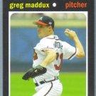 2013 Topps Update & Highlights Mini 1971 Retro Greg Maddux (Braves) #TM-24