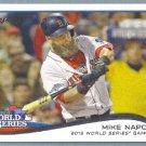 2014 Topps Baseball World Series Mike Napoli (Red Sox) #22