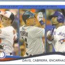 2014 Topps Baseball Chris Davis / Miguel Cabrera / Edwin Encarnacion LL #29