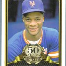 2014 Topps Baseball 50 Years of the Draft Darryl Strawberry (Mets) #50YD-9