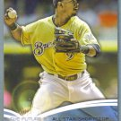 2014 Topps Baseball The Future is Now Jean Segura (Brewers) #FN-9