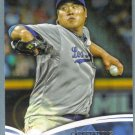 2014 Topps Baseball The Future is Now Hyun-Jin Ryu (Dodgers) #FN-15