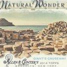 2014 Topps Allen & Ginter Baseball Natural Wonder Giant's Causeway #NW-15