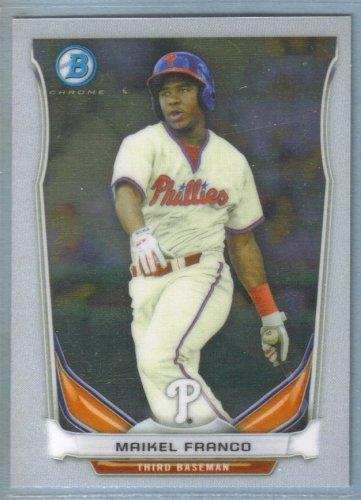 2014 Bowman Baseball Chrome Prospect Austin Wright (Phillies) #BCP80
