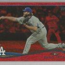 2014 Topps Update & Highlights Baseball Red Sparkle Chris Perez (Dodgers) #US206