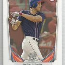2014 Bowman Draft Picks & Prospects Draft Pick Trea Turner (Padres) #DP10