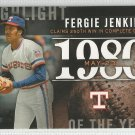2015 Topps Highlight of the Year 1980 Fergie Jenkins (Rangers) #H-20