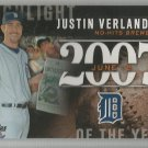 2015 Topps Highlight of the Year 2007 Justin Verlander (Tigers) #H-29