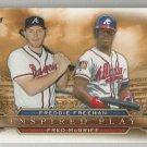2015 Topps Inspired Play Freddie Freeman & Fred McGriff (Braves) # I-10