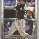 2015 Topps Baseball Rookie Ryan Rua (Rangers) #573