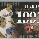 2015 Topps Baseball Highlight of the Year Nolan Ryan (Rangers) #H-54